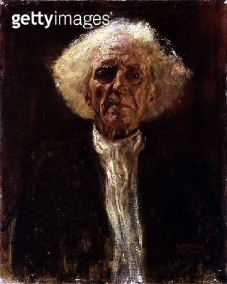 <b>Title</b> : Study of the Head of a Blind Man (oil on canvas)<br><b>Medium</b> : oil on canvas<br><b>Location</b> : Private Collection<br> - gettyimageskorea