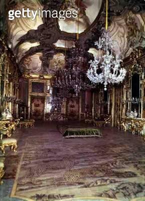 <b>Title</b> : Salon at the Palazzo Ganci, Palermo, c.1650 (photo)<br><b>Medium</b> : <br><b>Location</b> : <br> - gettyimageskorea