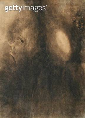 <b>Title</b> : Ecstasy, c.1885 (charcoal on buff paper)<br><b>Medium</b> : charcoal on buff paper<br><b>Location</b> : Private Collection<br> - gettyimageskorea
