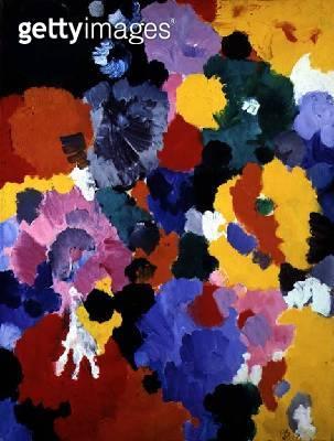 Flowers/ 1957 (oil on canvas) - gettyimageskorea