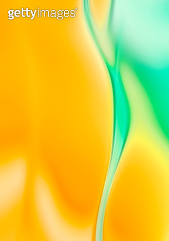 Trendy colorful neon Yellow and Aqua abstract wave background - gettyimageskorea