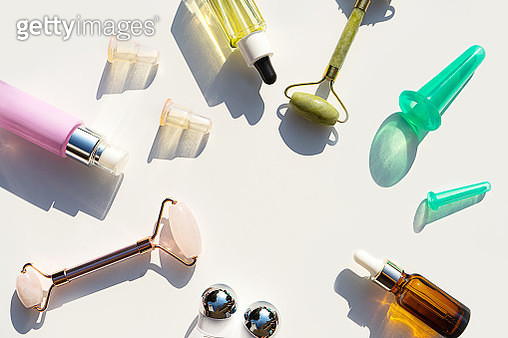 Beauty products for face massage. - gettyimageskorea