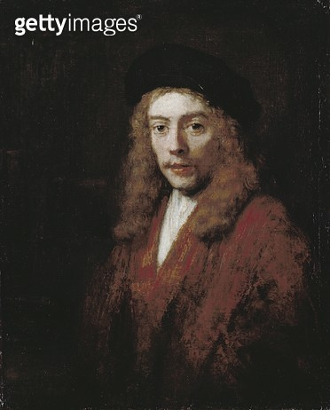<b>Title</b> : A young man, perhaps the artist's son, Titus<br><b>Medium</b> : oil on canvas<br><b>Location</b> : Dulwich Picture Gallery, London, UK<br> - gettyimageskorea