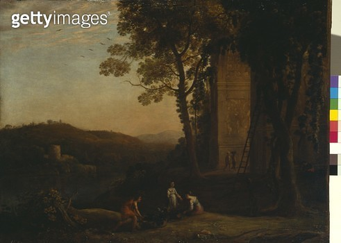 <b>Title</b> : Gathering Grapes, c.1641/2 (oil on canvas)<br><b>Medium</b> : oil on canvas<br><b>Location</b> : Dulwich Picture Gallery, London, UK<br> - gettyimageskorea