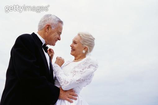 Mature Newlyweds - gettyimageskorea
