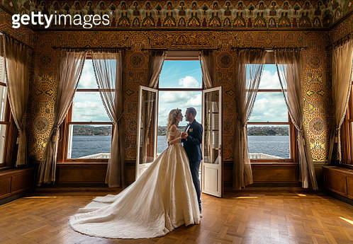 Wedding, Dancing, Palace, Bosphorus, Seascape - gettyimageskorea