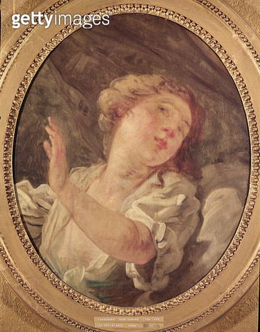 <b>Title</b> : Young Woman Turning Away or, La Resistance (oil on panel)<br><b>Medium</b> : oil on panel<br><b>Location</b> : Musee de Picardie, Amiens, France<br> - gettyimageskorea