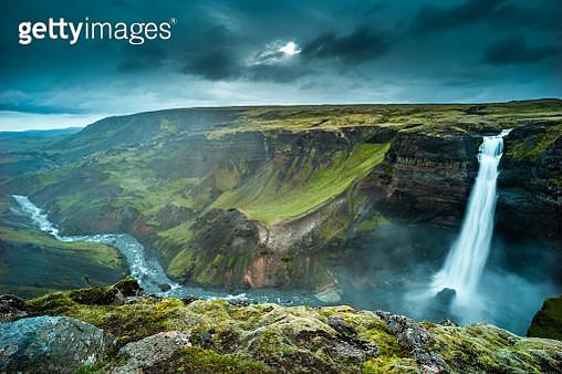 haifoss waterfall, Iceland - gettyimageskorea