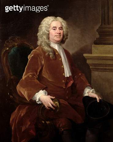 Portrait of William Jones/ 1740 - gettyimageskorea