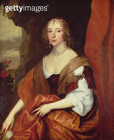 Anne Carr/ Countess of Bedford/ aged 22/ (1617-84) - gettyimageskorea
