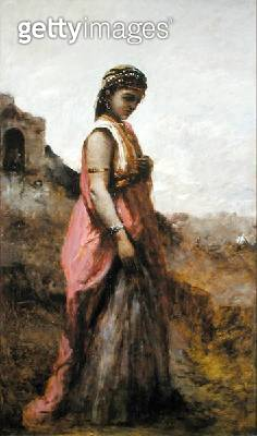 <b>Title</b> : Judith, c.1872-74 (oil on canvas)<br><b>Medium</b> : oil on canvas<br><b>Location</b> : Private Collection<br> - gettyimageskorea