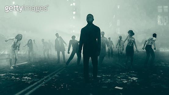 Beginning of the Zombie Apocalypse - gettyimageskorea