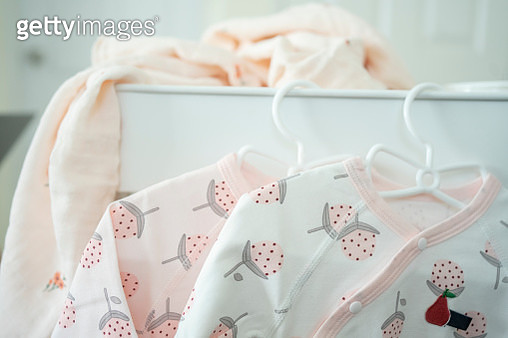 very cute new born cloths mother preparing for new life coming - gettyimageskorea