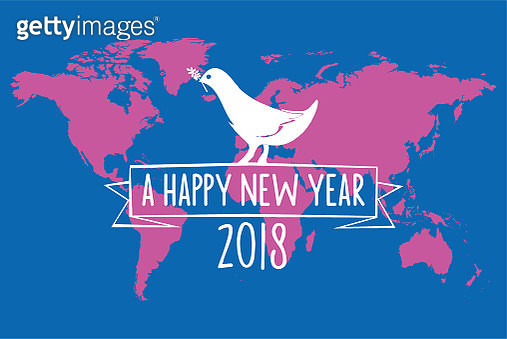 vintage peace dove badge on world map background - gettyimageskorea