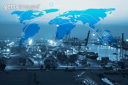 Global logistics network and transportation - gettyimageskorea