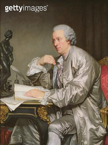<b>Title</b> : Portrait of Claude-Henri Watelet (1718-86) 1763-65 (oil on canvas)<br><b>Medium</b> : oil on canvas<br><b>Location</b> : Louvre, Paris, France<br> - gettyimageskorea