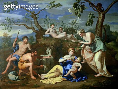 <b>Title</b> : The Feeding of Jupiter, 1639 (oil on canvas)<br><b>Medium</b> : oil on canvas<br><b>Location</b> : National Gallery of Art, Washington DC, USA<br> - gettyimageskorea