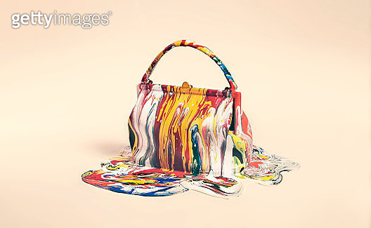 object covered in paint - gettyimageskorea