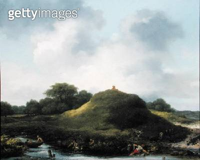 <b>Title</b> : The Hill, 1761-65 (oil on canvas)<br><b>Medium</b> : oil on canvas<br><b>Location</b> : Private Collection<br> - gettyimageskorea