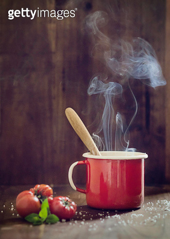 Hot tomato soup - gettyimageskorea