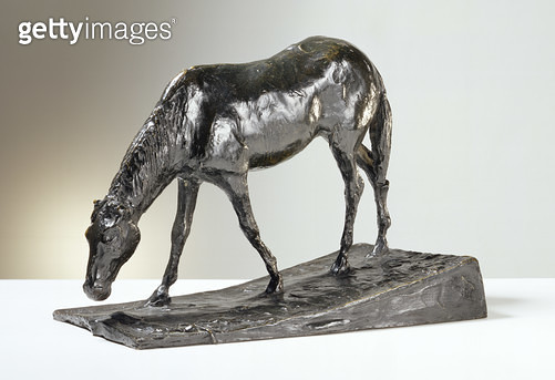 <b>Title</b> : Horse at Trough (bronze)<br><b>Medium</b> : bronze<br><b>Location</b> : Private Collection<br> - gettyimageskorea