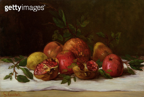 <b>Title</b> : Still Life, c.1871-72 (oil on canvas)<br><b>Medium</b> : oil on canvas<br><b>Location</b> : Private Collection<br> - gettyimageskorea