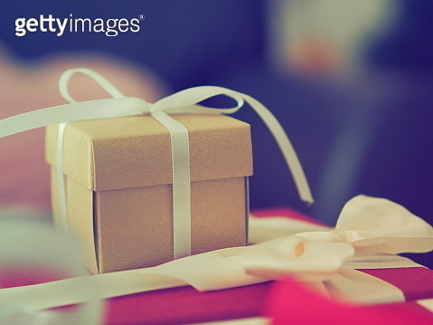 Close-Up Of Small Box - gettyimageskorea