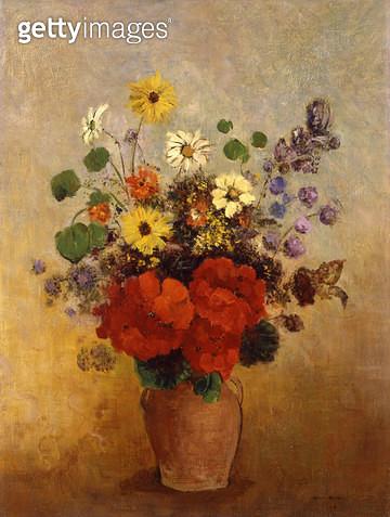 <b>Title</b> : Vase of Flowers, 1905-10 (oil on canvas)<br><b>Medium</b> : oil on canvas<br><b>Location</b> : Phoenix Art Museum, Arizona, USA<br> - gettyimageskorea