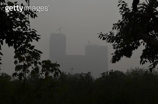 Air Pollution in Noida - gettyimageskorea
