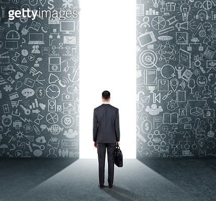 Concept of way to success - gettyimageskorea