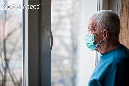 Self isolation an protection for senior citizens - gettyimageskorea