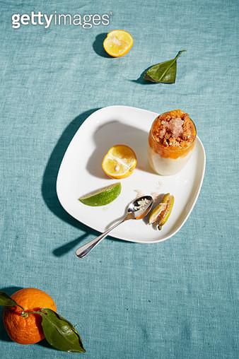 Citrus Ice on Gelato - gettyimageskorea