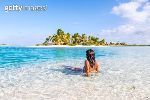 Tikehau atoll, Tuamotu archipelago, French Polynesia - gettyimageskorea