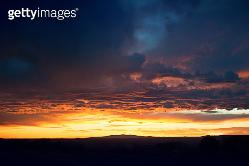 Cloudscape Sunset Sky - gettyimageskorea