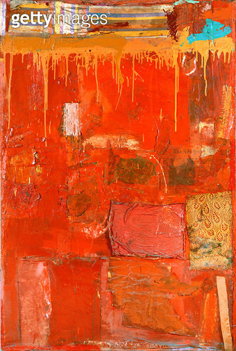 <b>Title</b> : The Red Painting<br><b>Medium</b> : <br><b>Location</b> : Private Collection<br> - gettyimageskorea
