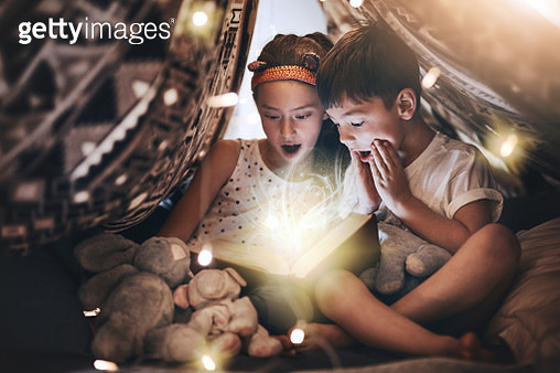 Caught up in the magic of it all - gettyimageskorea