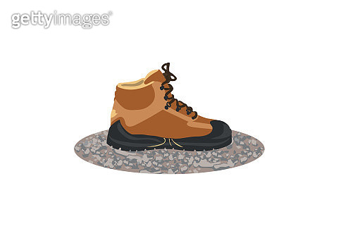 Friction walking boot - gettyimageskorea