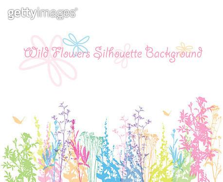 Wildflower Spring Pastels - gettyimageskorea
