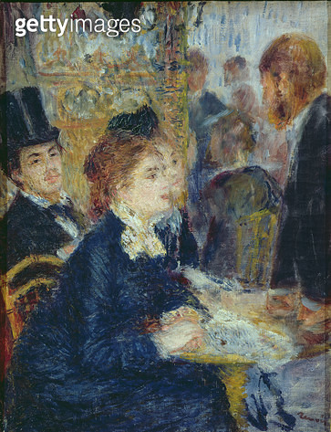 <b>Title</b> : At the Cafe, c.1877<br><b>Medium</b> : oil on canvas<br><b>Location</b> : Rijksmuseum Kroller-Muller, Otterlo, Netherlands<br> - gettyimageskorea