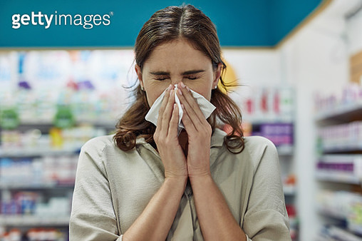 She's come to the right place for flu treatment - gettyimageskorea