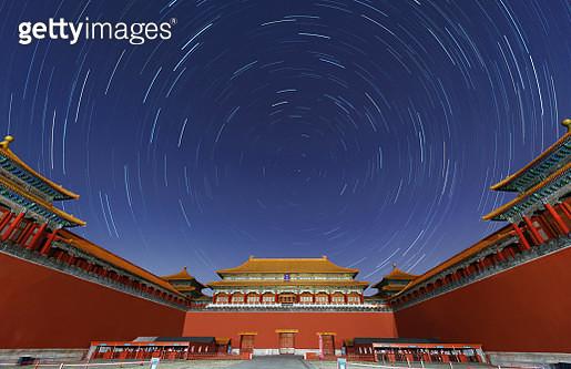 Stars over the Forbidden City - gettyimageskorea