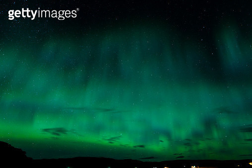 Aurora Borealis Light Effect in Iceland - gettyimageskorea