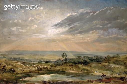 <b>Title</b> : Branch Hill Pond, Hampstead<br><b>Medium</b> : <br><b>Location</b> : Victoria & Albert Museum, London, UK<br> - gettyimageskorea