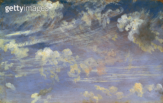 <b>Title</b> : Study of Cirrus Clouds<br><b>Medium</b> : <br><b>Location</b> : Victoria & Albert Museum, London, UK<br> - gettyimageskorea