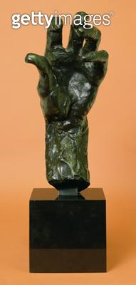 <b>Title</b> : Large Left Hand (bronze)<br><b>Medium</b> : bronze<br><b>Location</b> : Private Collection<br> - gettyimageskorea