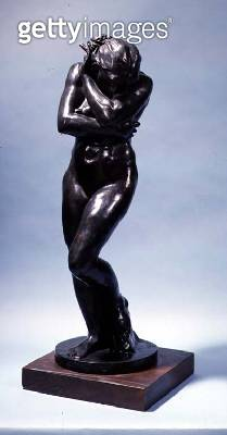 <b>Title</b> : Eve (bronze)Additional Infostudy for 'The Gates of Hell';<br><b>Medium</b> : bronze<br><b>Location</b> : Private Collection<br> - gettyimageskorea