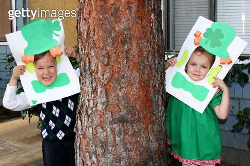 Children Celebrating St Patricks Day - gettyimageskorea