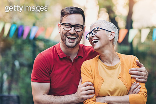 Mother and son - gettyimageskorea