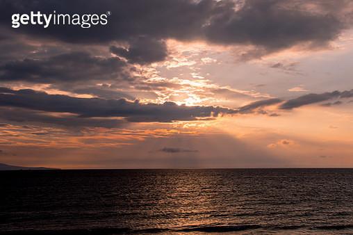 Sunrise over sea - gettyimageskorea