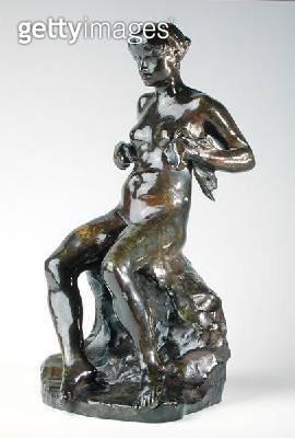 <b>Title</b> : Baigneuse Zoubaloff (bronze)<br><b>Medium</b> : bronze<br><b>Location</b> : Private Collection<br> - gettyimageskorea
